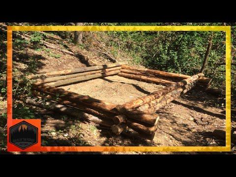 Cabana din bușteni (Log cabine):Partea I