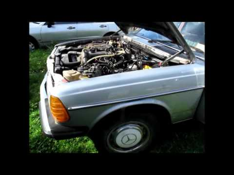 Mercedes Benz W123-300D The parts car