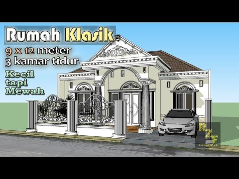 LAND CLASSIC HOUSE 9X12 METERS WITH 3 BEDROOMS