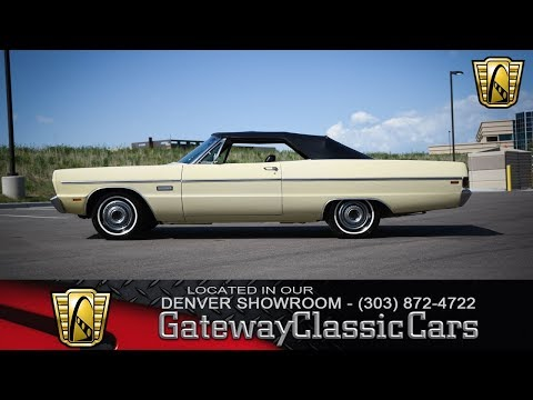1969 Plymouth Fury Now Featured In Our Denver Showroom #272-DEN