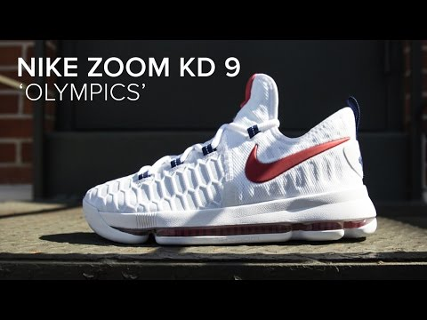 release date: 0267d 0296f Nike Zoom KD 9 'USA' Quick Detailed Look - YouTube
