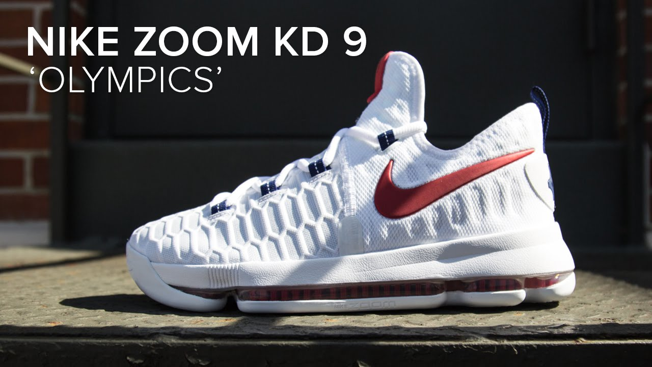 Nike Zoom KD 9  USA  Quick Detailed Look - YouTube 86e841a89