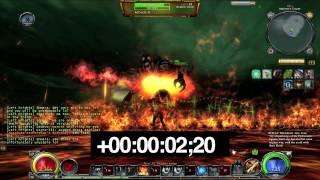 Hellgate: Global - My Evoker Emmera kills Hell Moloch solo in 9.08 seconds