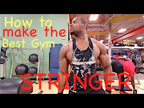 How to make the BEST GYM STRINGER | @xfactor_fitness | Xavier Thompson