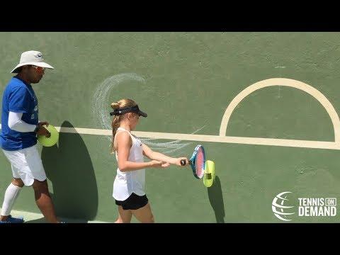Preparación semi circular y aceleración I Fabian Loiza y Tennis On Demand