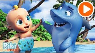 BABY SHARK DANCE - МАЛЫШ АКУЛЕНОК - мультик и песенка для детей