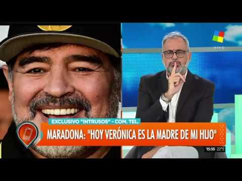 Entrevista completa a Diego Maradona en Intrusos