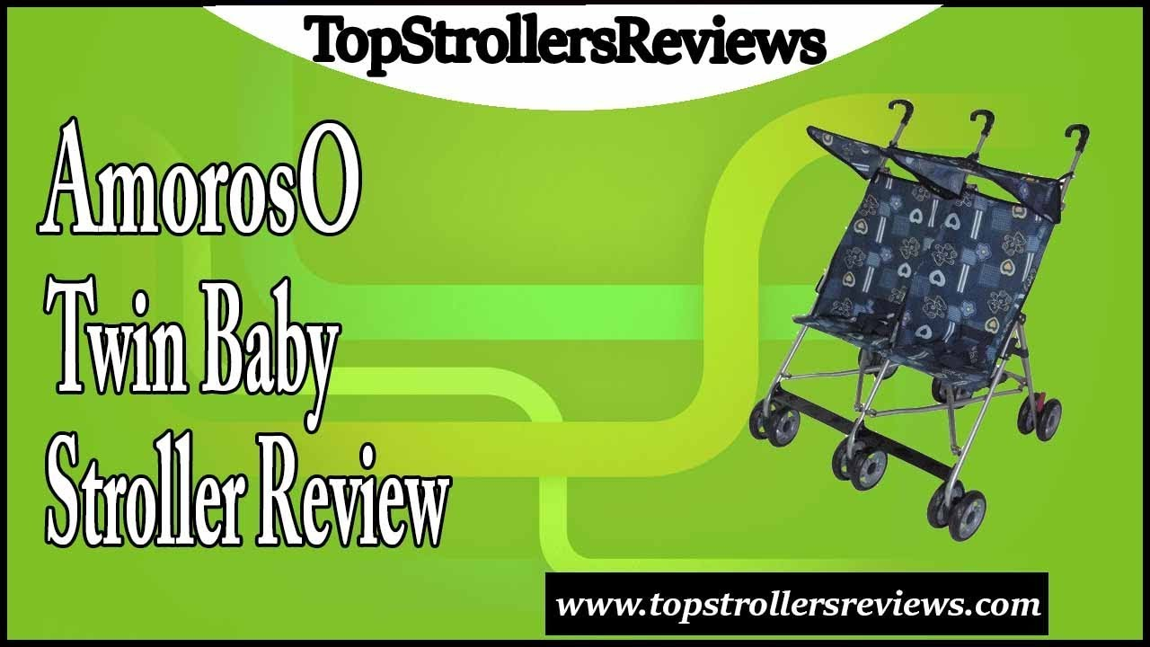AmorosO Twin Baby Stroller Review