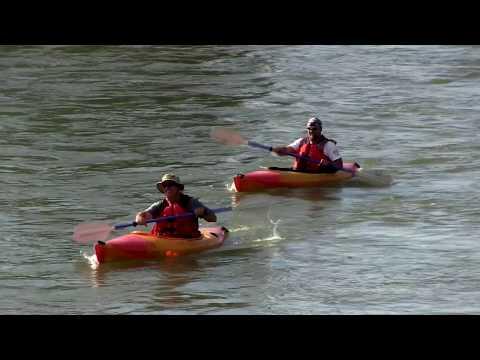 Kayaking at Guernsey State Park