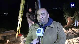مجهولون يحرقون محولَي كهرباء يغذيان محطة الغاز القادم من الاحتلال - (29/12/2019)