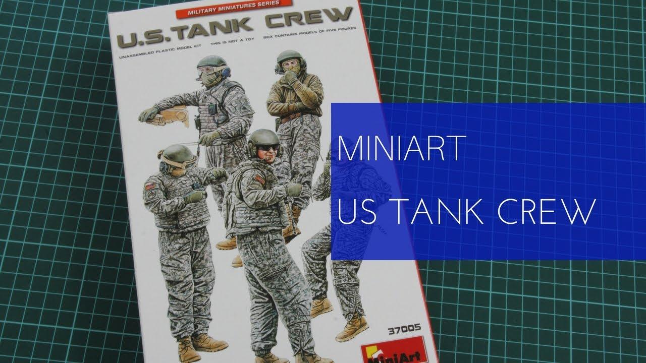 Tank Crew in 1:35 MiniArt 37005 U.S
