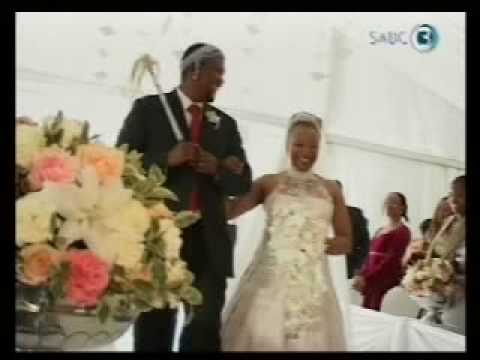 Nandi Mandela Eugene Desele Wedding Top Billing Insert