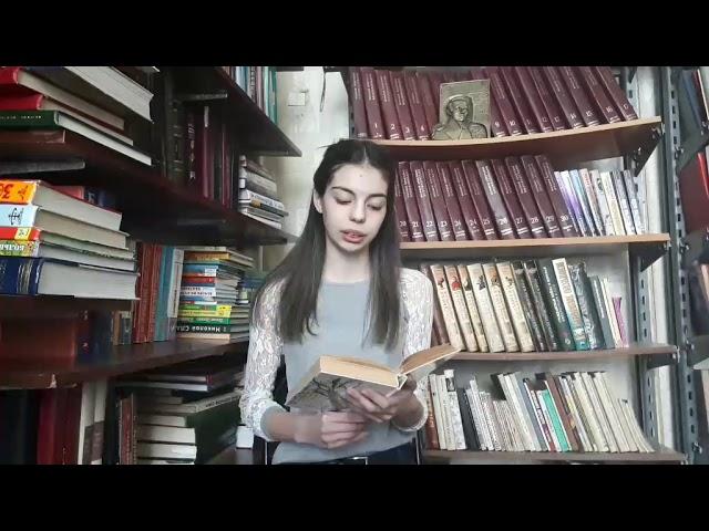 Изображение предпросмотра прочтения – ЕлизаветаКашкурова читает отрывок изпроизведения «Обломов» И.А.Гончарова