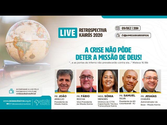 A crise não pôde deter a a Missão - Pr. Fábio Rocha