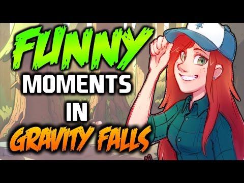 FUNNY MOMENTS IN GRAVITY FALLS 1-7 - Gravity Falls
