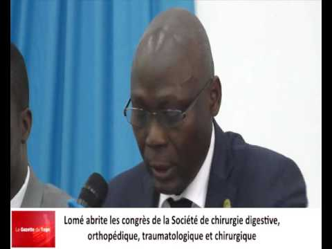 Des chirurgiens de tous ordres en congrès à Lomé depuis jeudi 12 janvier 2017