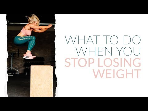 Overcoming Plateaus: What to do when you stop losing weight