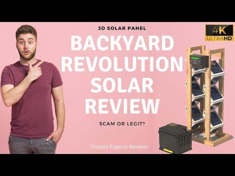 Backyard Revolution Solar Reviews | Is it Legit or a Scam?