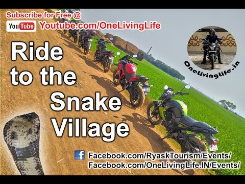 Ride to Musharu - The Snake Village in West Bengal, India