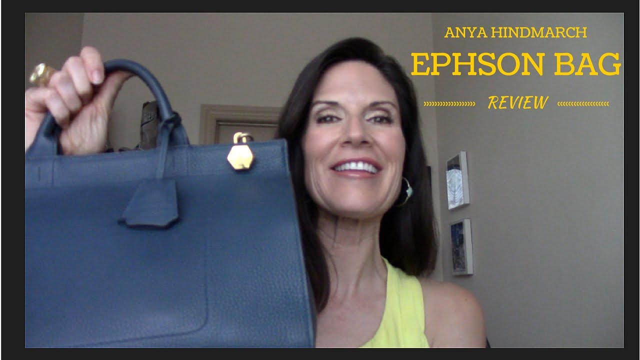 Anya Hindmarch Ephson Bag Review