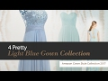 4 Pretty Light Blue Gown Collection Amazon Gown Style Collection 2017