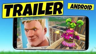 TRAILER OFFICIAL FORTNITE ANDROID - OFFICIAL TRAILER FORTNITE ANDROID!