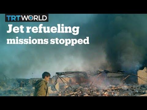 US halting refueling of Saudi-led coalition jets in Yemen's war