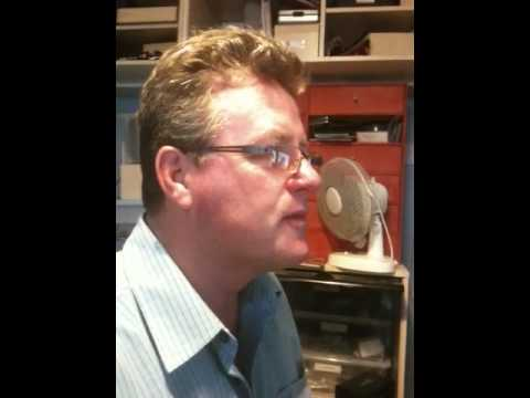 Keith Vickery visits home