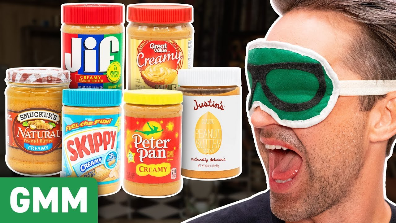Blind Peanut Butter Taste Test
