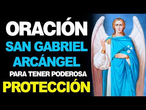 🙏 Oración al Arcángel San Gabriel para Pedir PROTECCIÓN PODEROSA 💪
