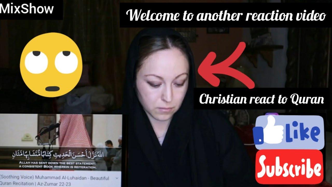 Download Christian react to incredible Quran recitation 😮😮