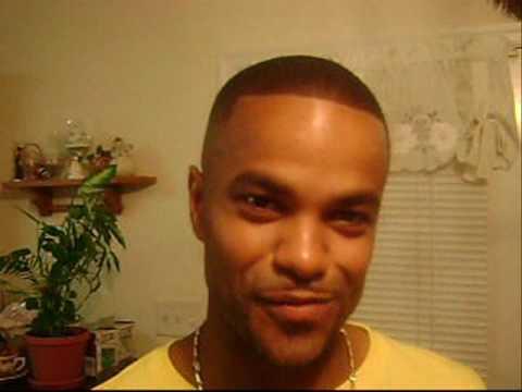 Chris brown mohawk haircut