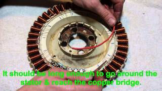 F&P washing machine stator rewiring tutorial