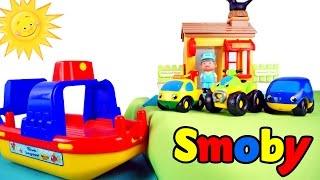 Видео для детей: Машинки и Паром. Учимся считать - Цифра 3. Игры для малышей.(Развивающее видео про машинки. Маленьким машинкам нужно перебраться на другой берег моря, но сами они этого..., 2016-01-11T07:18:54.000Z)