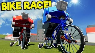 GIANT LEGO BIKE RACE! - Brick Rigs Multiplayer Gameplay - Best Lego Toy Creations