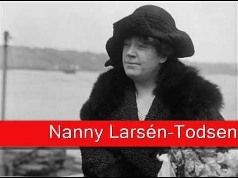 Nanny Larsén-Todsen: Wagner - Tristan und Isolde, 'Liebestod'