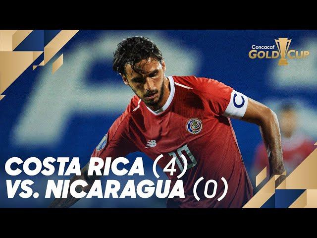 Costa Rica (4) vs. Nicaragua (0)  - Gold Cup 2019