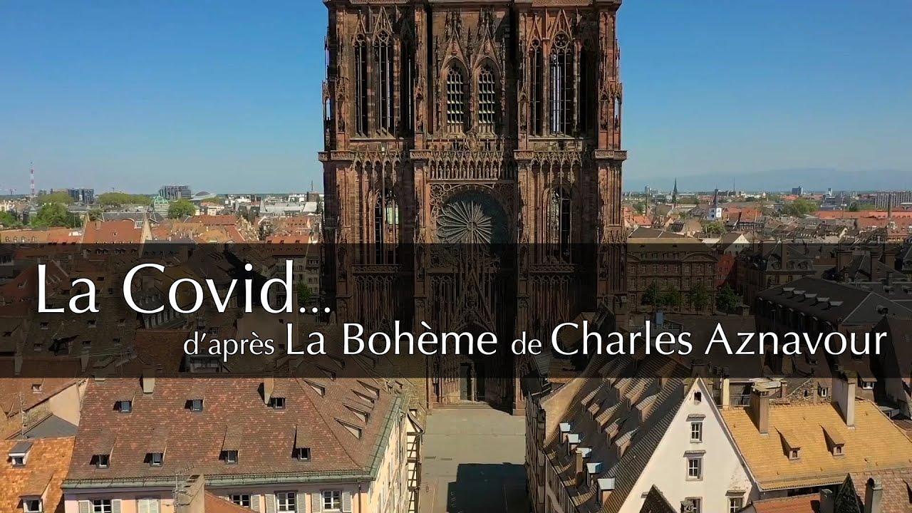 La Co vide @Strasbourg (La bohème de Charles Aznavour)