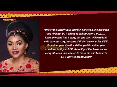 MERCY AIGBE PROMISES TO SHARE STORY OF PAINFUL TIMES IN HER LIFE
