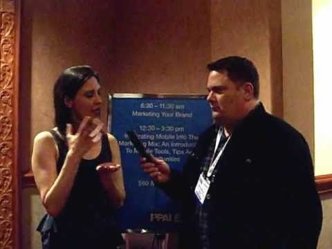 "Sean Johnston interviews Christina ""CK"" Kerley after her PPAI Expo 2012 talk"