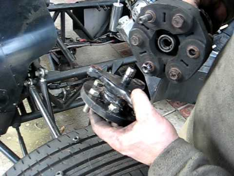 Twin V8 inline engine coupler, up close - YouTube