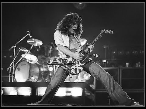 Eddie Van Halen - Hot For Teacher - Isolated Guitar Track AWESOME