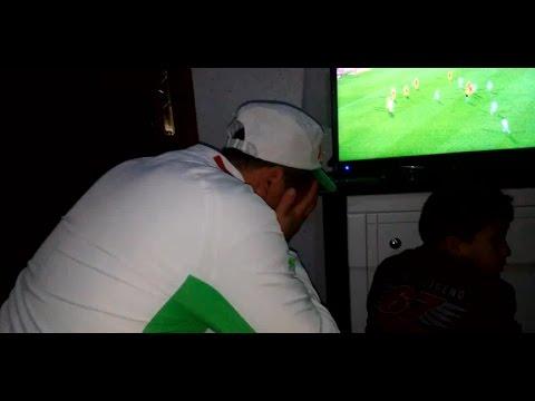 بكاء شوبير بعد  مباراة الجزائر و تونس  ( 2-1)  19/01/2017