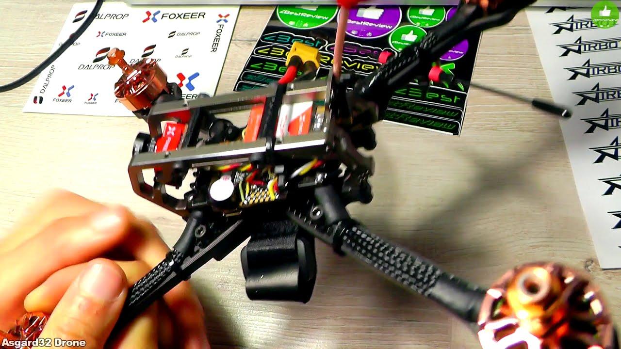 ✔ Сборка FPV Квадрокоптера - Diatone GT-M200 Asgard32 Drone 274$ фотки