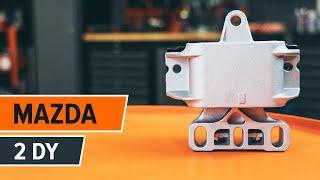 Hvordan man udskifter gearkasse ophæng på MAZDA 2 DY