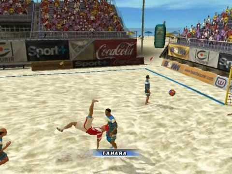 Pro Beach Soccer | Tahara Bicycle Kick Vs Argentina