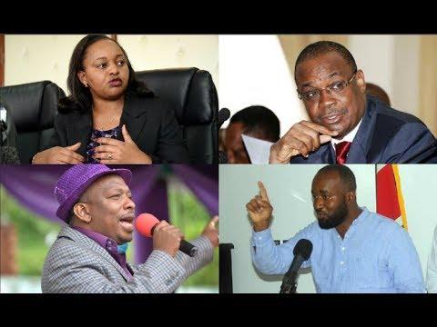 Civil Society publishes list of 20 'unwanted' aspirants among them Sonko, Waiguru and Joho
