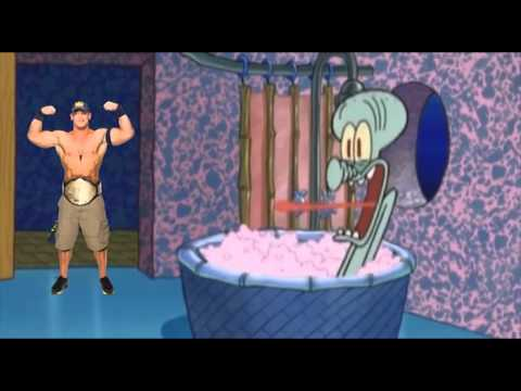 Squidwards band plays John Cena's Theme