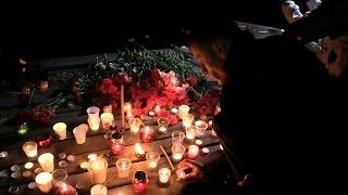В память о жертвах Ту 154 Севастополь зажёг свечи