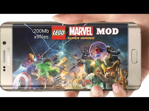 Lego Marvel Superheroes Free Download On Android || Mod Apk+data || Proof With Gameplay
